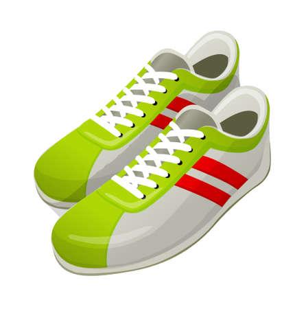 chaussure sport: vecteur ic�ne chaussures