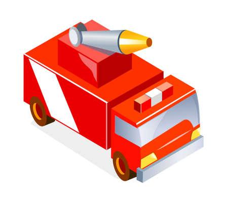 camion pompier: camion de pompiers ic�ne