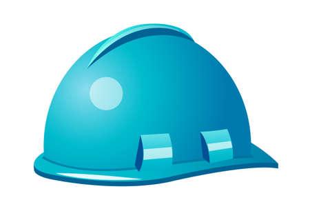 icon safety helmet Vector