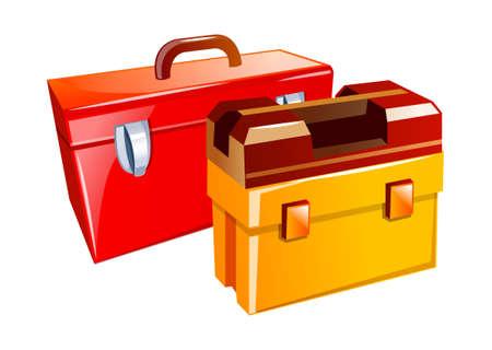 vector icon tool box Stock Vector - 15995625