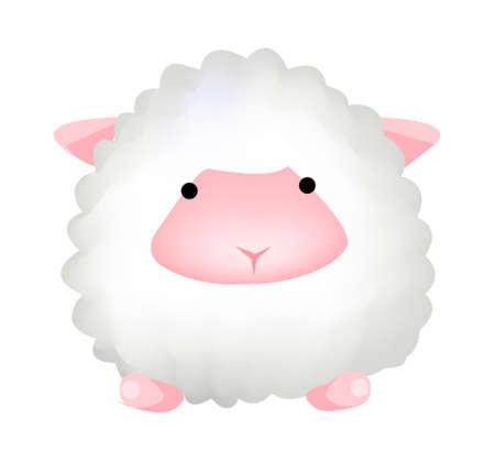 icon sheep Stock Vector - 15938515