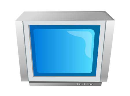 icon television Stock Vector - 15895185