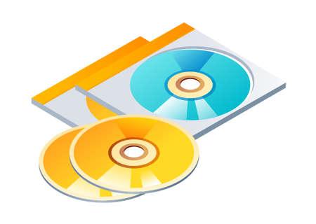 icon CD Stock Vector - 15920659