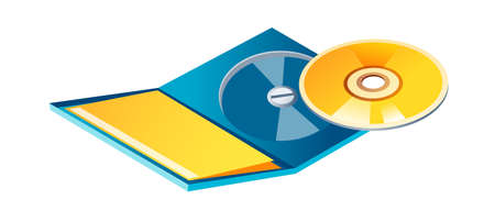 icon CD Stock Vector - 15893973