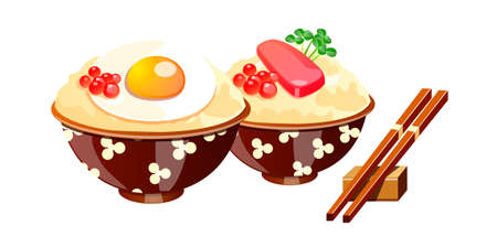 vector icon japanese food Stock Vector - 15992799