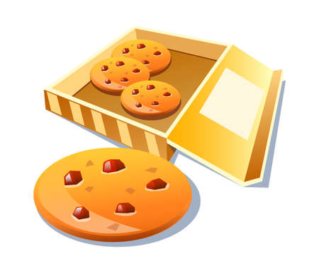 vector icon cookie