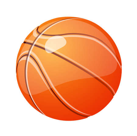 vector icon basketball Illustration