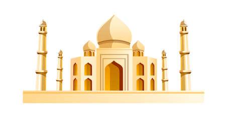 vector icon Taj Mahal