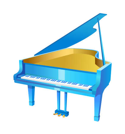 vector icon piano Stock Vector - 15993797