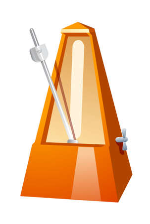 vector icon metronome Stock Vector - 15994155