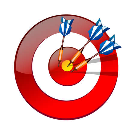 vector icon dart Stock Vector - 15996511