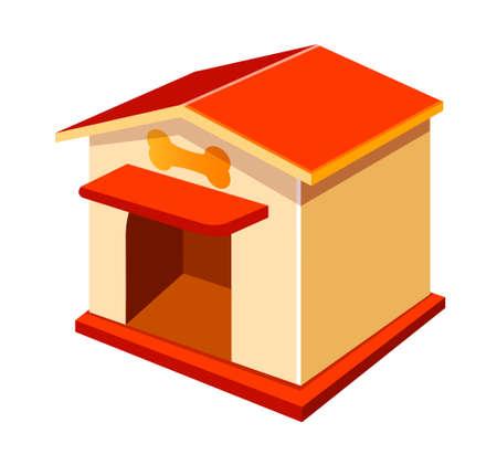 icon dog house Stock Vector - 15919373