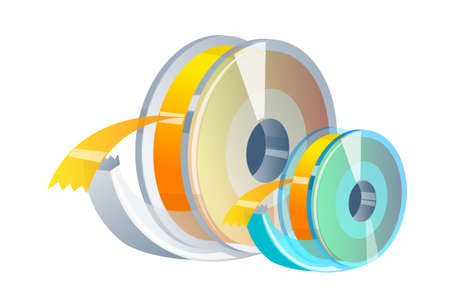 vector icon scotch tape Stock Vector - 15997055