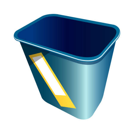 icon trash can Stock Vector - 15920455