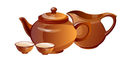 vector icon tea pot Stock Vector - 15996482
