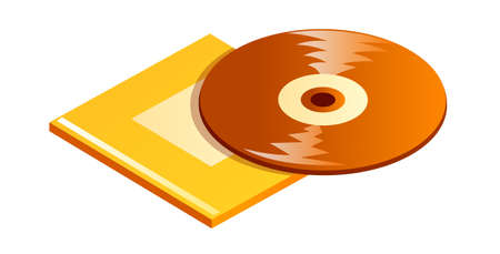 cd case: icono de cd