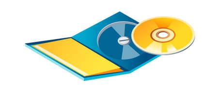 icon cd Stock Vector - 15894356