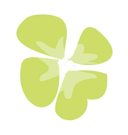 icon clover Stock Vector - 15917619