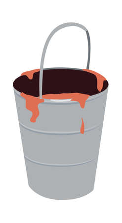 icon bucket Stock Vector - 15919708