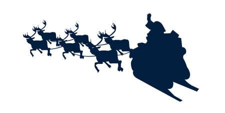 icon shadow Santa Claus