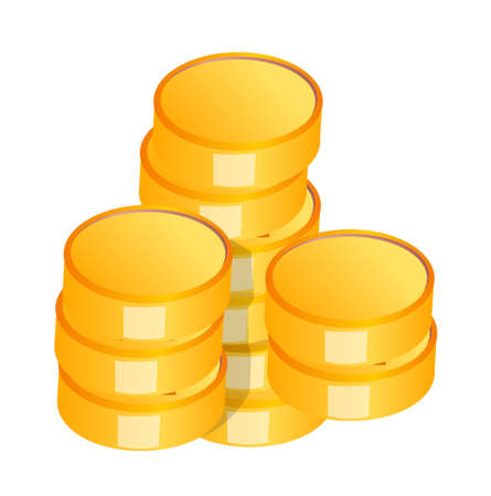 icon coin Vector