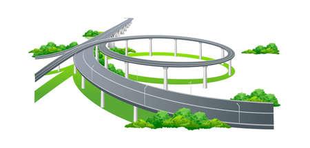 icon highway Stock Vector - 15997226