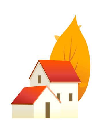 icon house Stock Vector - 15992962