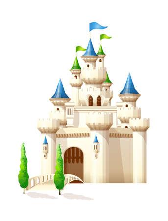 icon castle Illustration