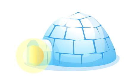 icon igloo Stock Vector - 15996981