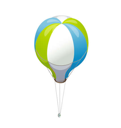 icon hot air balloon Stock Vector - 15895127