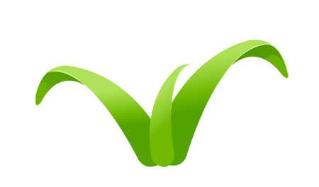 icon leaf Stock Vector - 15894626