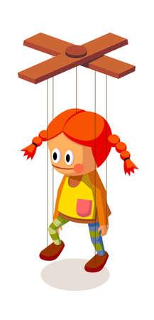 icon marionette Stock Vector - 15919933