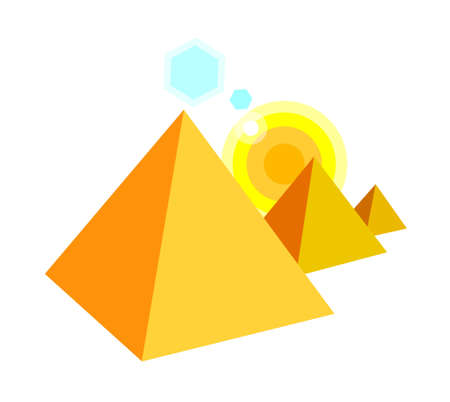 icon pyramid Stock Vector - 15895378