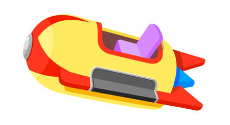 amusement park rides: icon amusement park ride Illustration