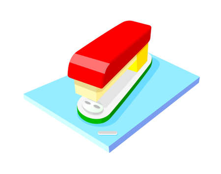 icon stapler Stock Vector - 15916917