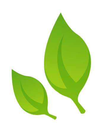 icon leaf Illustration