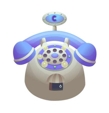 icon telphone Stock Vector - 15997385