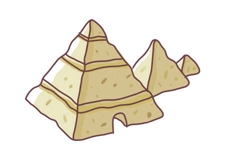 icon pyramid Stock Vector - 15895296