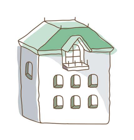icon house Stock Vector - 15909619