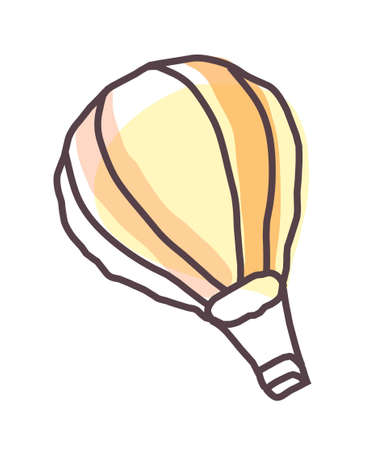 icon air balloon Stock Vector - 15989498