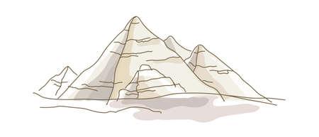 icon pyramid Stock Vector - 15907956
