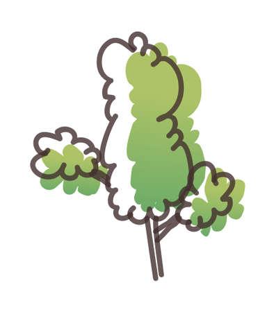 icon tree Stock Vector - 15910289