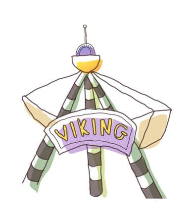 icon viking Stock Vector - 15990005