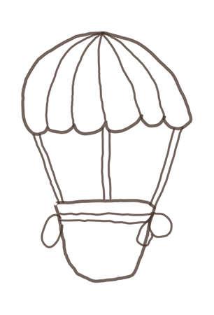 icon airship Stock Vector - 15989895