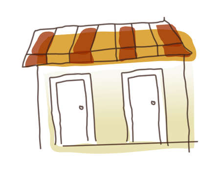 adobe: icon house Illustration