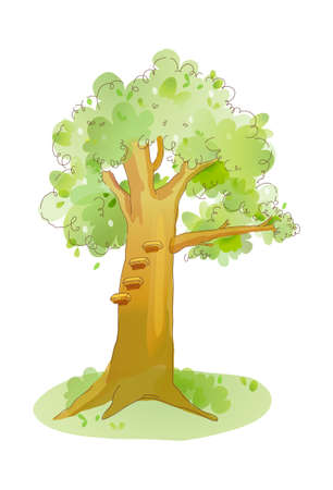 icon tree Stock Vector - 16014857
