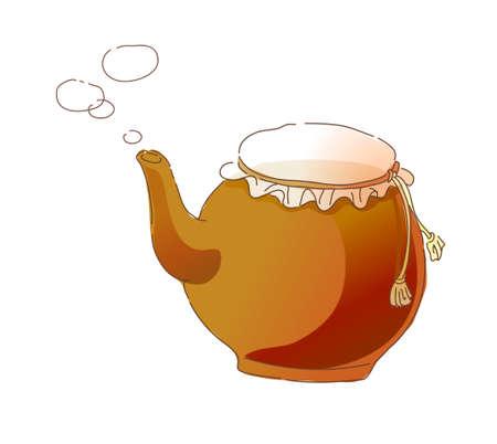 icon kettle Stock Vector - 16014783