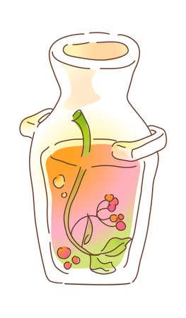 icon bottle Stock Vector - 16014860