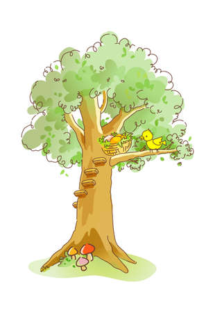 icon tree Stock Vector - 16014853