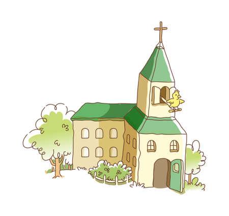 icon church Stock Vector - 16003906